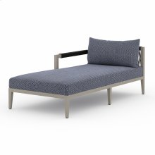 Laf Chaise Piece Configuration Faye Navy Cover Sherwood Outdoor Sectional Pieces, Weathered Grey