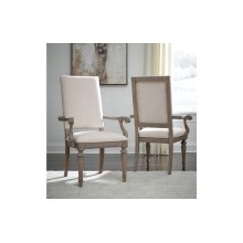 Manor House Upholstered Back Arm Chair