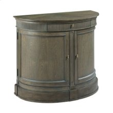 Savona Demilune Bachelor Chest Elm Finish