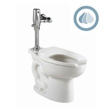 Madera ADA EverClean Toilet with Selectronic Battery Flush Valve System - White