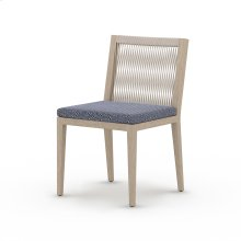 Faye Navy Cover Sherwood Outdoor Dining Chair, Washed Brown