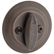 663 Single Sided Deadbolt with Thumbturn - Venetian Bronze