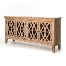 Dogwood Finish Azalea Sideboard 4 Door