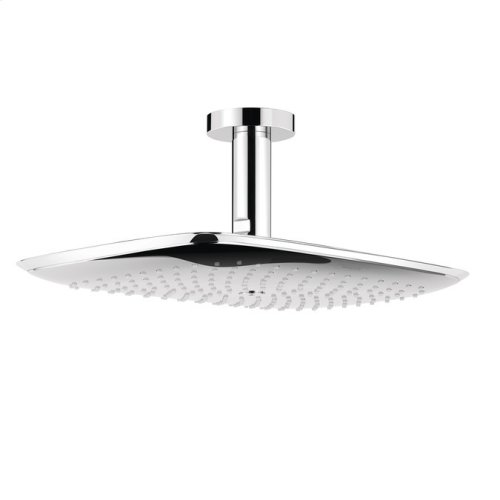 Chrome Showerhead 400 1-Jet with Ceiling Mount, 2.5 GPM