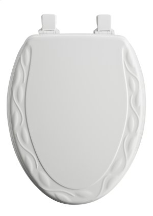Molded Wood Elongated Toilet Seat Product Image