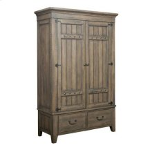 Mill House Simmons Armoire - Complete