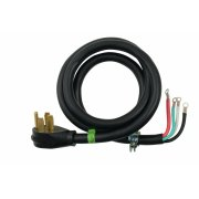 4' 4-Wire 40 amp Power Cord - Other Product Image