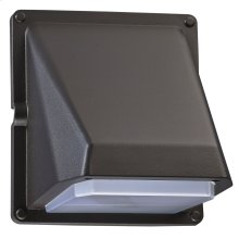 11W LED Wall Mount Door Corridor Fixture with Photocell