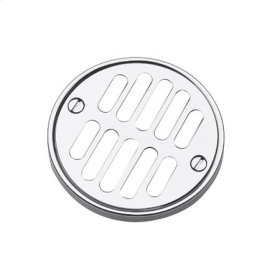 Gloss Black Shower Drain Grill