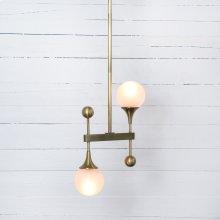 Gillie Pendant-patina Brass