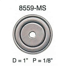 "Round Back Plate/ See 8029 for 1-9/16"" Version"