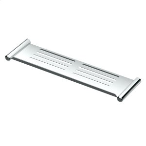 Elegant Shower Shelf in Chrome Product Image