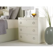 Transitions Bowfront Bedside Chest