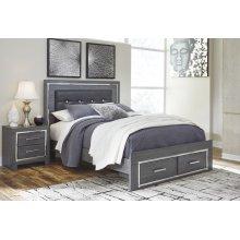 Lodanna - Gray 3 Piece Queen Bed