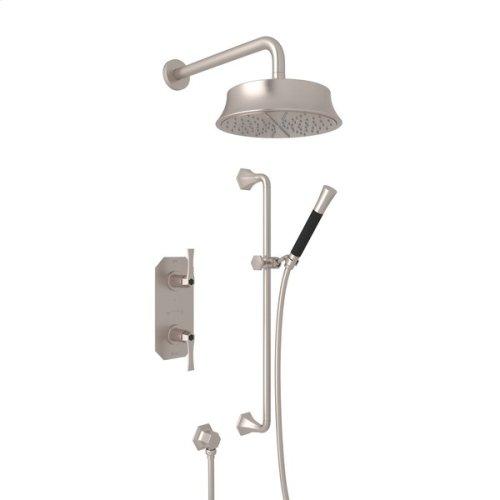 Satin Nickel Bellia Bekit50l Thermostatic Shower Package