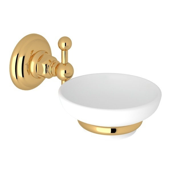 Italian Brass Italian Bath Wall Mount Soap Dish