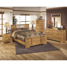 Bittersweet - Light Brown 5 Piece Bedroom Set