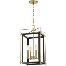 Architect Chandelier in Western Bronze