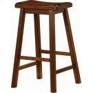 Transitional Chestnut Bar-height Stool Product Image