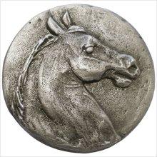 Metal Horse Head