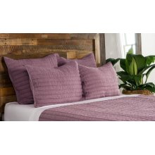 Heirloom Orchid Quilt 5Pc Queen Set