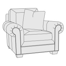 Grandview Chair in Mocha (751)