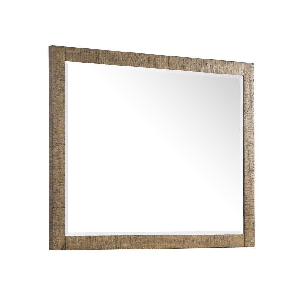 Urban Rustic Bedroom Mirror
