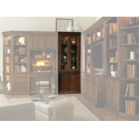 Home Office Cherry Creek 32'' Wall Curio Cabinet Product Image
