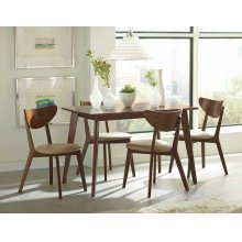 Kersey Retro Chestnut Dining Table