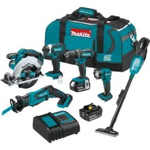 Makita, 18v LXT L-I 6pc;Combo Kit, Bag