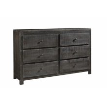 Drawer Dresser - Charcoal Finish