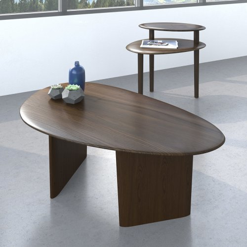 1953 Coffee Table in Toasted Walnut