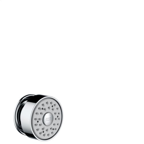 Chrome Body shower round 1jet