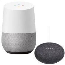 Google Home and Mini Black