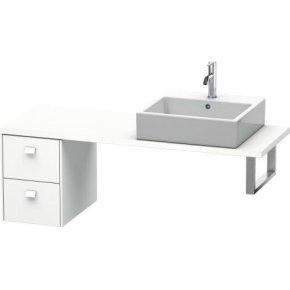 Brioso Low Cabinet For Console Compact, White Matt