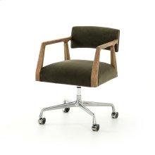 Modern Velvet Loden Cover Tyler Desk Chair
