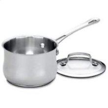 Contour Stainless 1 Quart Saucepan with Cover