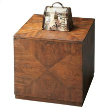 This Bunching Cube is the ultimate in style and function, and designed for contemporary spaces. Crafted from poplar hardwood solids and wood products with matched ash veneers on the top and sides, it boasts a warm Praline finish. Just one commands attenti