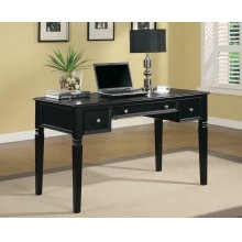 Transitional Black Writing Desk