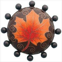 Cloisonn' Beaded with Fall Leaf