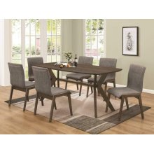 Mcbride Retro Five-piece Dining Set