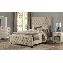 Savannah King Bed Beige