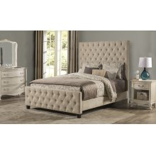 Savannah King Bed Beige