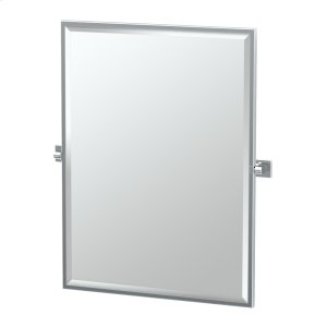 Elevate Framed Rectangle Mirror in Chrome Product Image