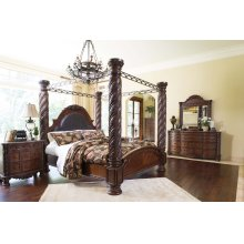 North Shore - Dark Brown 7 Piece Bedroom Set
