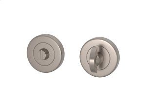 Half Moon Turn & Release Solid In Satin Nickel Product Image