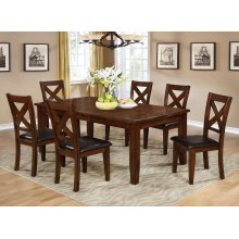 """Gregory Dining Table with 18"""" Leaf"""