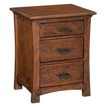 DAO 3-Drawer Prairie City Nightstand