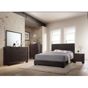 IRELAND BROWN FULL BED