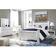 Jallory - White 5 Piece Bedroom Set